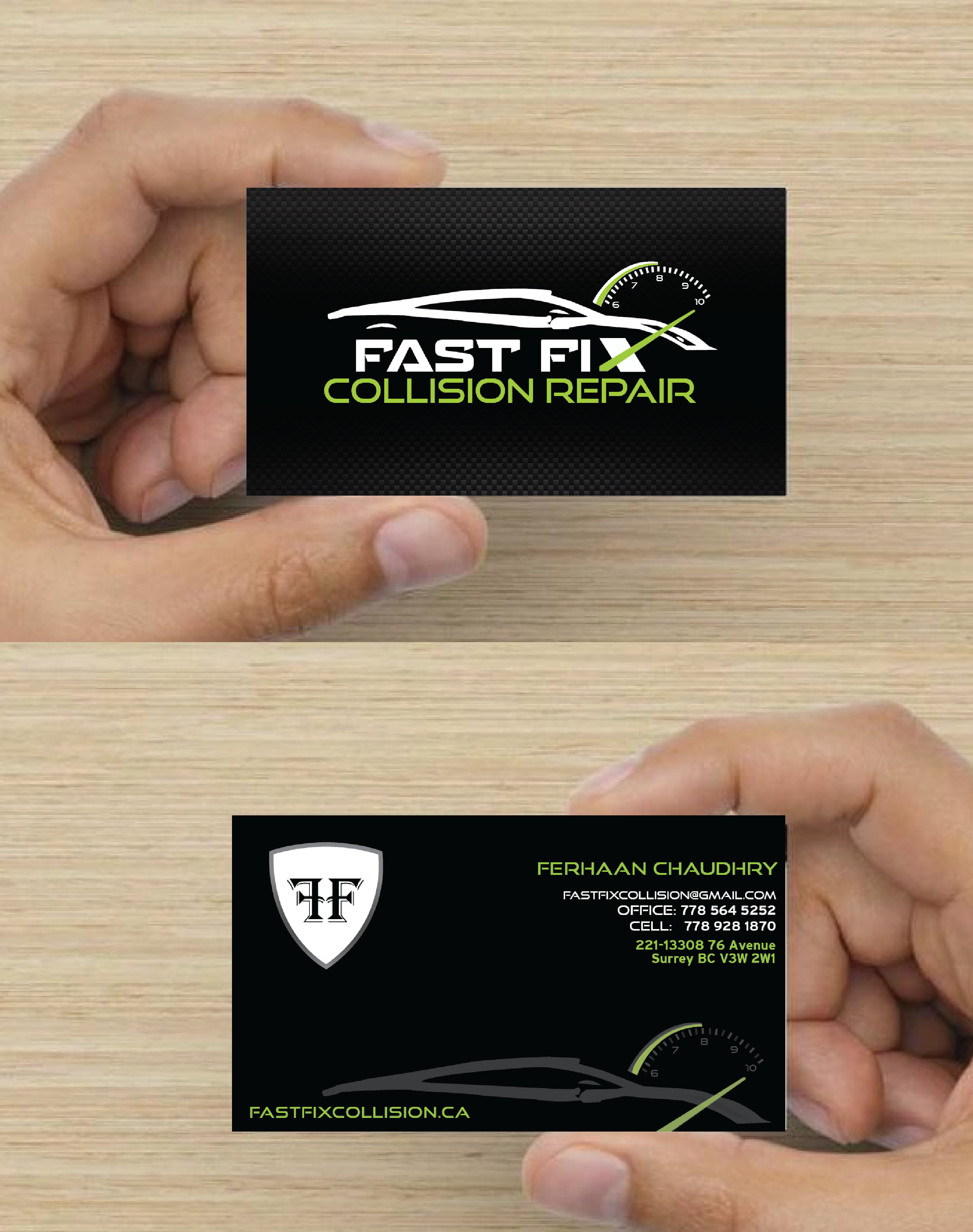 Fast fix business cards graphic design printing services fast fix business cards reheart Choice Image